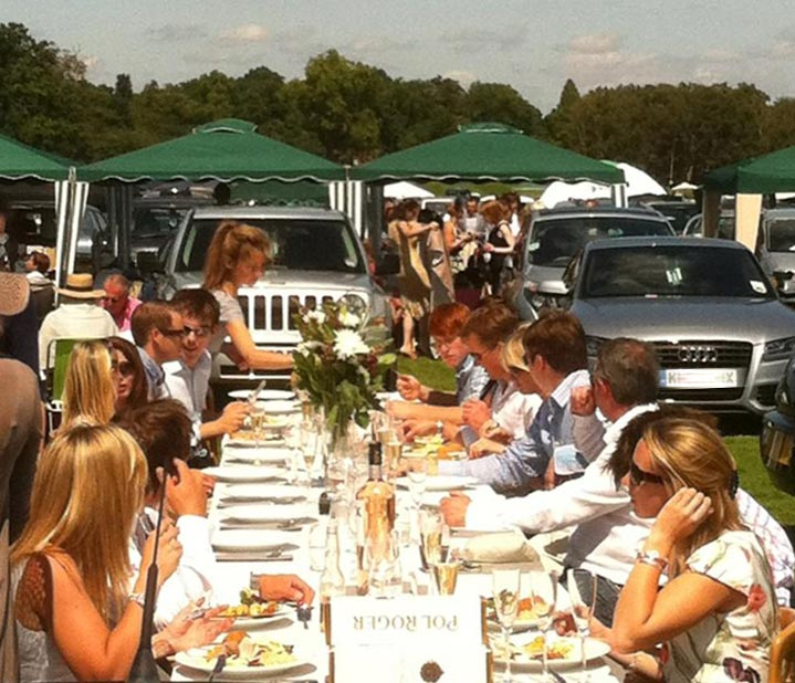 Cartier polo lunch by Marlborough Events