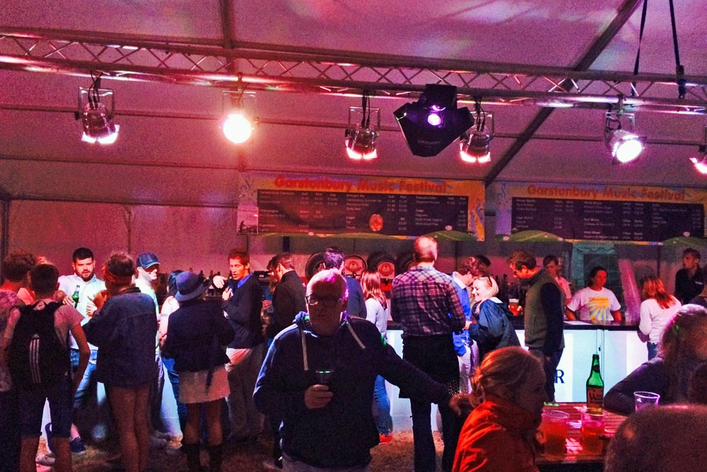 music festival bar and catering supplied by marlborough events