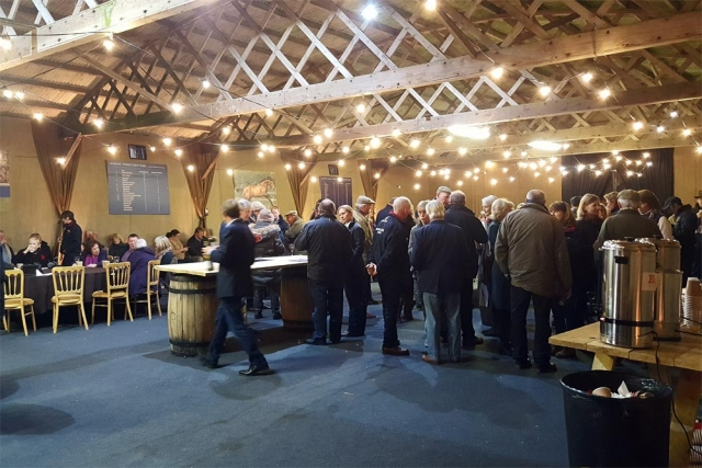 thoroughbred stud open day catered by marlborough events