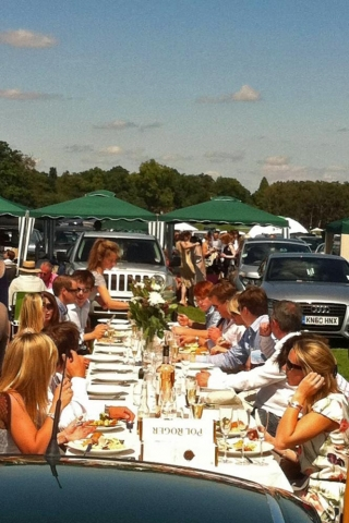 cartier polo alfresco lunch catered by marlborough events